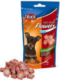 Trixie TX-31492 Мягкие цветы 75гр-  лакомство для мини собак и щенков
