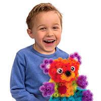 Конструктор липучка Вязкий пушистый шарик 400 деталей идеальний подарок для  ребенка
