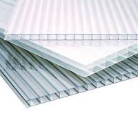 Лист поликарбонатный сотовый 6000х2100х10 мм Прозрачный Sunnex