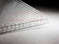 "Лист поликарбонатный сотовый 6000х2100х16 мм ""КОЛОТЫЙ ЛЕД"" Прозрачный ROYALPLAST"