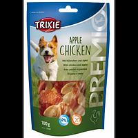 Trixie TX-31593 PREMIO Apple Chicken 100гр - лакомство для собак   с куриной грудкой и яблоком
