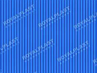 Лист поликарбонатный сотовый 6000х2100х16 мм синий ROYALPLAST