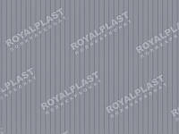 Лист поликарбонатный сотовый 6000х2100х8 мм серебро ROYALPLAST