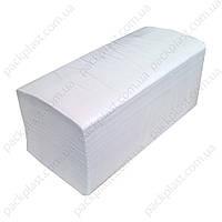 Полотенца листовые Clean Point Lux Large V, 200 листов, белые