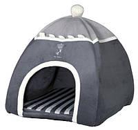 Trixie TX-37808 My Prince мягкое место для котов и маленьких собачек 40х42х40см,серый