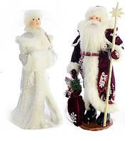 Дед Мороз и Снегурочка под елку 50-53см  , фото 1