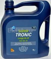 Масло моторное Aral Super Tronic LongLife III 5W30, 5L VW 504 00/507 00, MB 229.51 - 20475