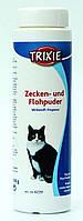 Trixie TX-4239 пудра от блох и клещей для кошек