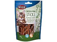Trixie TX-42708 PREMIO Chicken Mini Sticks 50г - мини палочки с курицей и рисом для кошек