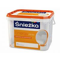 Краска ENERGY 1,4кг белый тонируется Sniezka UA