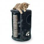 Trixie TX-4336 Когтеточка,дряпка  домик для кота 41х58см