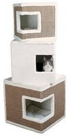 Trixie TX-43377 Когтеточка,дряпка  дом для кота Лило (123см,46 × 46 см)