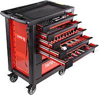 Сервисный шкаф с инструментами YATO YT-55290