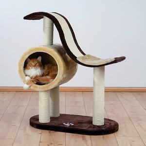 Trixie TX-44100 Когтеточка,дряпка  домик для кота Nerja (99cм, 77 × 41 см)