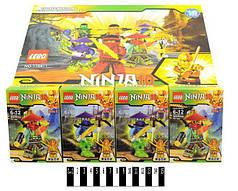 Конструктор Ninja Ниндзя 1764-1, блок 16 шт