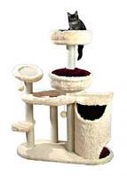 Trixie TX-44601 Когтеточка,дряпка  дом для кота  Marta  130см, беж/фуксия