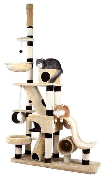 Trixie TX-44691 Когтеточка,дряпка Munera ,246-280см,домик для кота