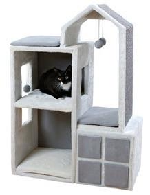 Trixie TX-44654 Когтеточка,дряпка  домик башня Гала (105см ,73 × 41 см)