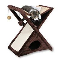 Trixie TX-44770 Когтеточка,дряпка драпак-домик д/кота  Miguel  65см, беж/коричневый