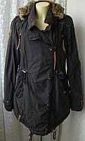 Куртка осень зима капюшон Naketano р.50 7335