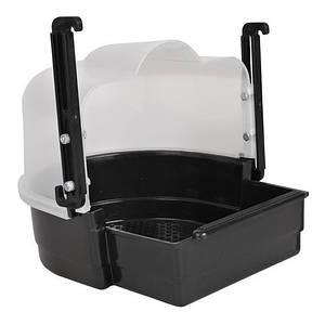 Trixie TX-54034 домик-купалка для птиц (пластик) 19х21х21см,  Трикси.