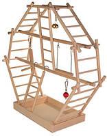 Trixie TX-5659 игровая площадка  для птиц (дерево) 44 × 44 × 16 см