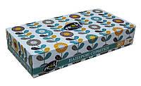 Косметические салфетки PrOK Blue 80 штук в картонной коробке