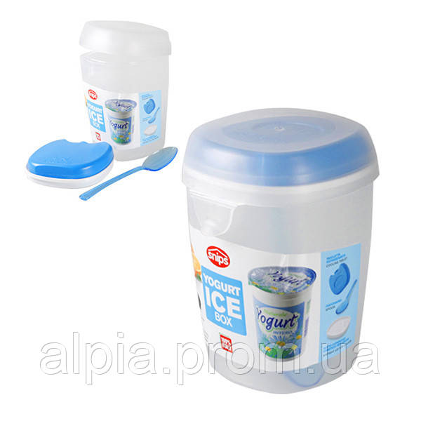 Контейнер с ложкой для йогурта/салата Snips 0.5 л
