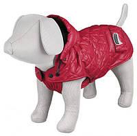 Trixie TX-67625 куртка зимняя для собак  Sila с капюшоном,40см,красная