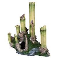 Trixie TX-88175 декорация в виде бамбука с пещерой 24см