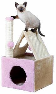 Trixie ТX-44808 Когтеточка,дряпка для кота  Iva Scratching Post 56см