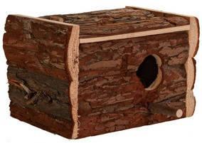 Trixie ТХ-5633 домик-гнездо для птиц (дерево) 30х20х20см