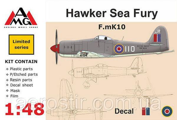 Hawker Sea Fury F.mk10 1/48 AMG 48601