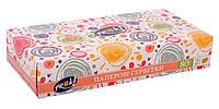 Косметические салфетки PrOK Happy 80 штук в картонной коробке