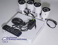 Комплект системи відеонагляду Green Vision GV-K-G02/04 720Р, фото 1