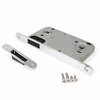 Защелка магнитная под ручку и фиксатор для межкомнатных дверей Apecs 5300-M-WC-CR (хром)