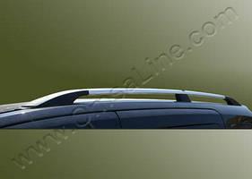 """Рейлинги Ford Tourneo Custom 2013+  Тур. тип - Premium, Пластиковые ножки, цвет """"Хром"""""""
