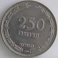 Монета Израиля 250 шекелей