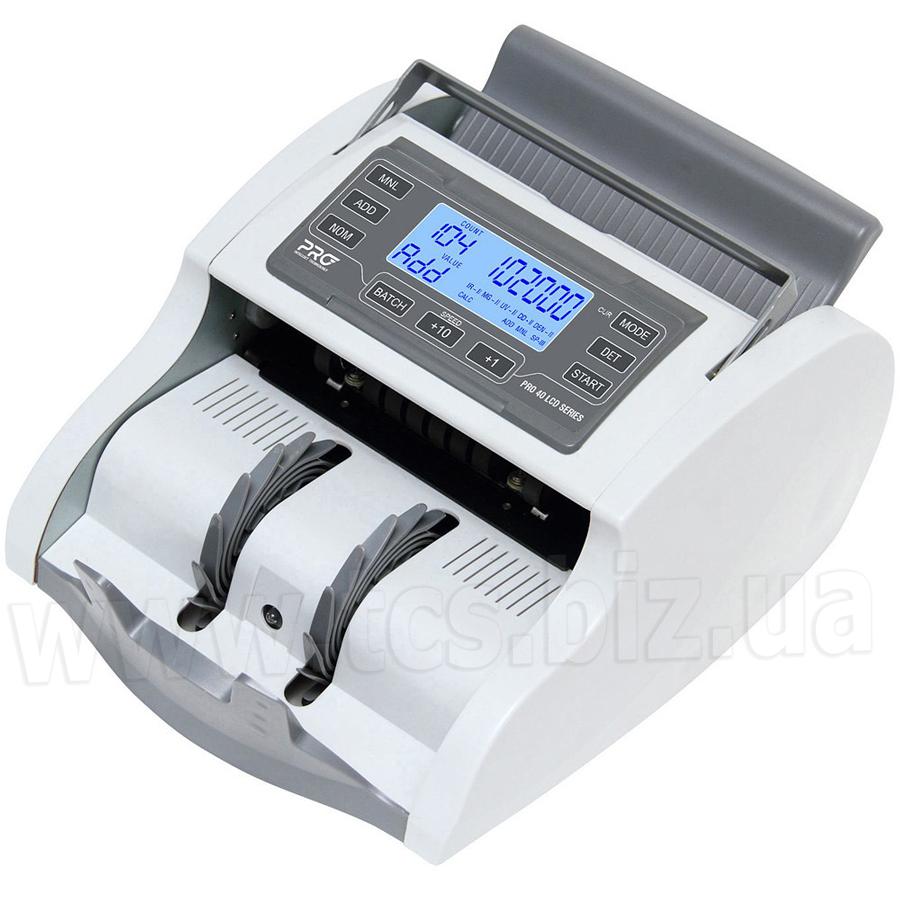 PRO 40 U LCD Лічильник банкнот з калькуляцією