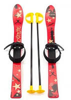 Лыжи детские Marmat 90 см, красные, пластик