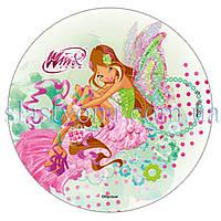 Вафельные картинки Winx Флора  21 см