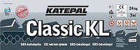 """Битумная черепица Katepal Classic KL Black """"Черный"""""""