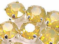 Стразы в золотых цапах Swarovski 17704 Gold Plated Sand Opal
