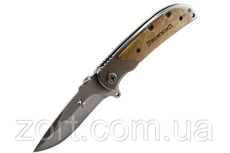Нож складной, механический Browning 338B, фото 2