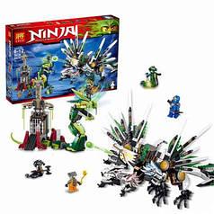 Конструктор Ninja Ниндзя Битва Титанов 79132, 959 деталей