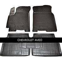 Килимки в салон Avto Gumm 11135 для Chevrolet Aveo 2006-11