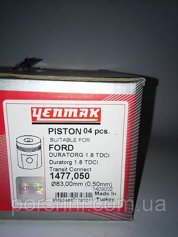 Поршни  82.5 + 0.5 CONNEСT 1.8 TDCI  2007 > ENMAK 1477050
