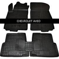 Килимки в салон Avto Gumm 11136 для Chevrolet Aveo 2012-