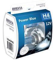 """Автомобильные галогенные лампы """"Brevia"""" (H4)(Power Blue)(+20%)(4200K)(12V)(60/55W)"""