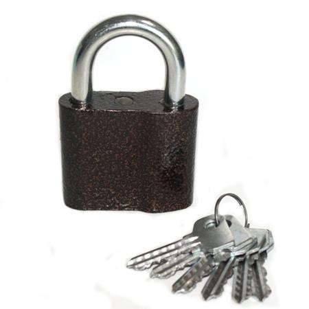 Замок навесной Тандем ВС-1 (6 ключей)